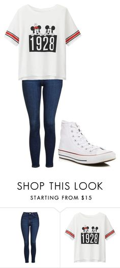 """Untitled #228"" by cruciangyul on Polyvore featuring Topshop, Uniqlo and Converse"