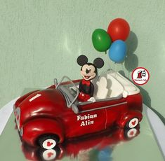 A place for people who love cake decorating. Mickey Mouse Car, Disney Mickey, Love Cake, Cute Cakes, Cake Decorating, Lily, Toys, Birthday Ideas, Birthday