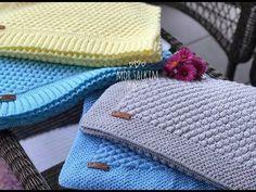 Battaniye kenarına nasıl bordür dikilir? bebek battaniyesi - battaniye kenarı anlatım - YouTube