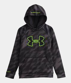 Boys  UA Storm Armour® Fleece Big Logo Blocked Hoodie  4f23e9798393d