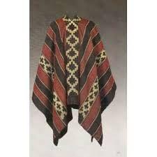 Poncho Araucano Siglo XIX