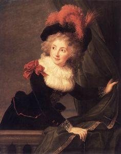 Louise Elisabeth Vigée Le Brun - Ritratto di Madame Perregaux
