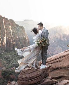 12840b81f5d Wedding photos in Zion National Park - adventurous outdoor elopement Couple  Photography