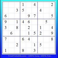 Challenge your mind and have fun while playing this Sudoku puzzle. Just download and print. It's free. Enjoy! be sure to repin and share.
