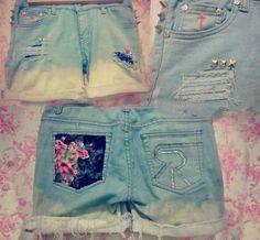 cool DIY shorts