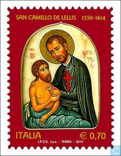 Postage Stamps - Italy [ITA] - Saint Camillo de Lellis