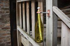 Olielamp fles