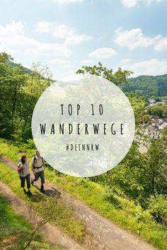 Schuhe geschnürt und raus in die Natur: Hier findest Du unsere Top 10 der schönsten Wanderwege in NRW. Bild: Ahrsteig © www.ahrtal.de