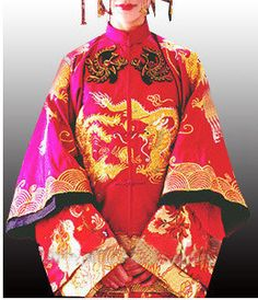 chinese wedding dress 秀禾服秀
