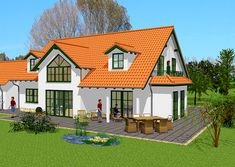 Besondere Häuser - Wohnen nach Maß | GSE HAUS Style At Home, Attic Rooms, Planer, Cabin, Mansions, House Styles, Home Decor, Front Elevation, Collection