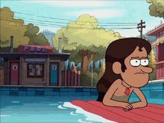 Gravity Falls pool!! And mermando!!
