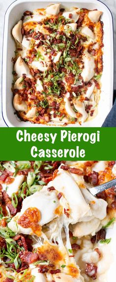 The tastiest and easiest Cheesy Perogy Casserole! Maximum comfort with minimal effort. This dish has 5 simple ingredients and takes no time at all in the oven. One Dish Dinners, Dinner Dishes, Pasta Dishes, Food Dishes, Main Dishes, Casserole Ideas, Casserole Dishes, Casserole Recipes, Easy Pasta Recipes