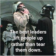 When you are promoted to Commander by Lord Vader, you know what happened to the last one.