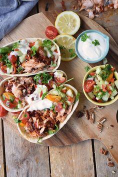 Pulled Lachs mit frischer Salsa - Pulled Salmon Tacos (10)