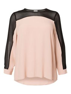 Mahogany Rose blouse from Junarose plus-size!