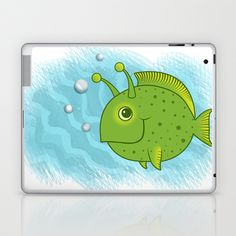 'Alien Fish' By Zoe Shelton Illustration