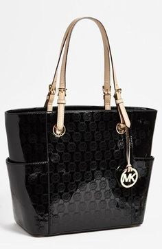 Click to Zoom   View Larger      Share:  FacebookPintrestPinterestTwitterTwitterEmailEmail               We've changed the look of this page.  Tell us what you think!       MICHAEL Michael Kors  'Signature' Tote