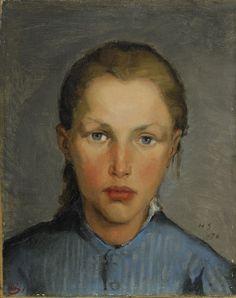 HELENE SCHJERFBECK   Arbertarflicka (Working Girl, 1978)
