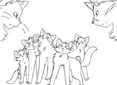 21 Best Warrior Cat Coloring Pages Images Cat Coloring Page