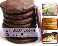 FREE Girl Scout Cookies Copycat Recipe Book  $0