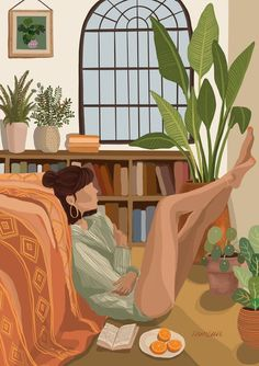 Illustration Vector, Woman Illustration, Design Illustrations, 365 Kawaii, Aesthetic Art, Cartoon Art, Cute Art, Art Drawings, Pretty Drawings