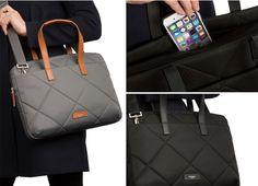 """[리타몰] 노모런던 탤벗 - 여성용 서류가방으로 심플하고 가벼운 디자인 / 14"""" 노트북 수납 가능하며 2~30대의 직장인 여성에게 최적"""