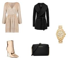 A fashion look from January 2018 featuring short wrap dress, wrap coats and ankle bootie boots. Browse and shop related looks. Ankle Booties, Bootie Boots, Wrap Dress Short, Wrap Coat, Alice Olivia, Fasion, Forever 21, Fashion Looks, Michael Kors