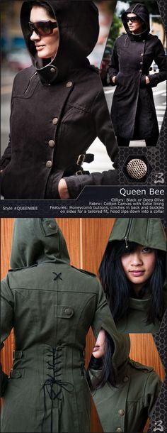 Buddhaful Queen Bee Coat