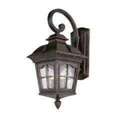 Bel Air Lighting 26-in Black Outdoor Wall Light