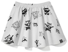Kukukid Superhero Skirt available for international delivery from online kids store www.alittlebitofcheek.com.au