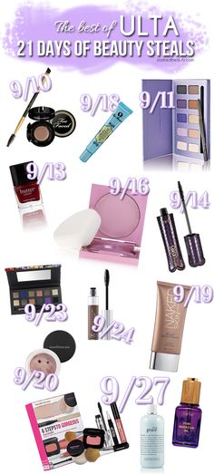 Ulta 21 Days of Steals 2014 Wishlist | Slashed Beauty