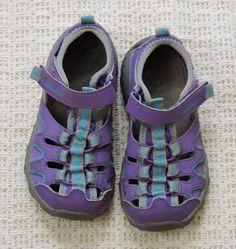 Merrell Hydro Purple Toddler Girl Waterproof Sandals Size 11M #Merrell #Sandals