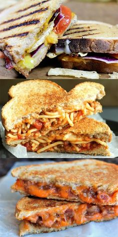 Grilled cheese sandwiches, from biscuits, hot sauce, venison gravy, and the finest pepper jack cheese to bacon, banana peppers, tomatoes and potato chips. These grilled cheeses are unbelievable.