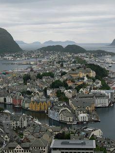 Alesund. Noruega.