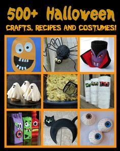 WOW! 500+ Halloween Ideas | Fun Family Crafts