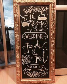 great vancouver wedding #jadeandjoelgetmarried #chalkart #moderncalligraphy #calligraphy #handwritten by @weiwithink  #vancouverwedding #vancouverweddingstationery #vancouverwedding