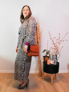 Jurk Devanshu African Leopard Sustainable Clothes, African Leopard, Chic, Style, Fashion, Shabby Chic, Swag, Moda, Elegant