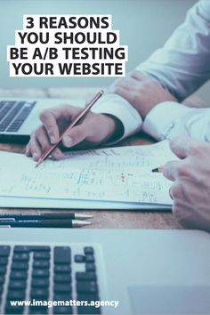 Do you use A/B Testing when creating a website? If not, here's why you should be considering this testing format for future projects! Digital Marketing Strategy, Online Marketing, Social Media Marketing, Website Images, Your Website, Digital Review, Seo, Improve Yourself, Web Design