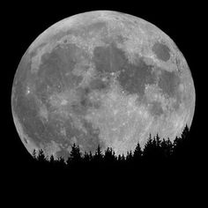 The moon, my moon.. A full moon means so many things to me
