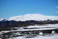 Eyjafjallajökull, view from the east.  May 2013
