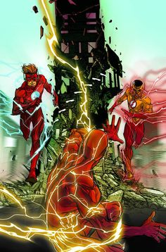 "DC COMICS (W) Joshua Williamson (A) Neil Googe (CA) Carmine Di ""KID FLASH OF TWO WORLDS!"" In this single-issue tale, Wally West meets Wally West! The original Kid Flash meets his cousin for the very f"