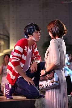Jung Young Hwa & Park Shin Hye in Heartstrings, love these two!