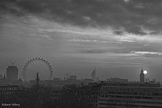 Sunrise over London,England