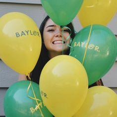 Baylor balloons! Yes! #SicEm