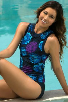 e969df6814 Shop HAPARI for women's tankini tops. Our cute tankini tops come in halter,  bandeau and other tankini styles.
