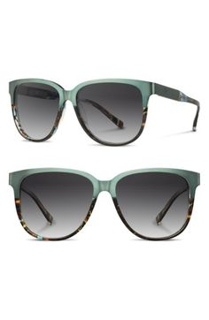 319dd0b9c6fee SHWOOD  MCKENZIE  57MM POLARIZED SUNGLASSES - OPAL  TITANIUM  GREY POLAR.