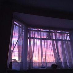 Imagen de grunge, purple, and sky