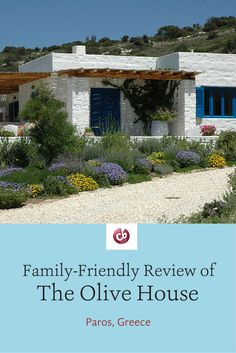 Family-friendly review and highlights of The Olive House in Paros, Greece