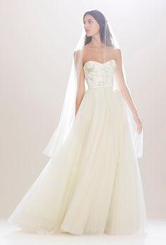 Carolina Herrera Wedding Dress - Fall 2016 - Brides.com