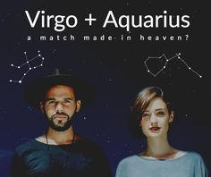 How two seemingly different zodiac signs can work together to have an amazing relationship full of joy, splendor, and excitement . along with many, many deep conversations. Virgo Girl, Aquarius Love, Aquarius Quotes, Aquarius Woman, Virgo Men, Aquarius Facts, Sagittarius Man, Virgo And Aquarius Compatibility, Virgo Horoscope